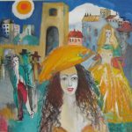 Abrahamyan Khachik 13.Cool Day Oil on canvas 90cmx90cm