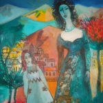 Abrahamyan Khachik 14.Unusual Dream 2008 Oil on Canvas 70cmx50cm