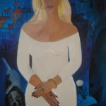 Abrahamyan Khachik 16.Sorry 2006 Oil on Canvas 100cmx70cm